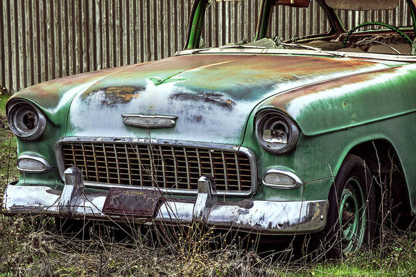 Photograph - Rusty 55 Chevy by William Havle