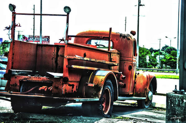 Photograph - Rusty Beauty by Lesa Fine