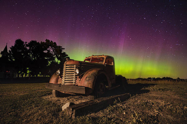 Photograph - Rusty Borealis by Aaron J Groen