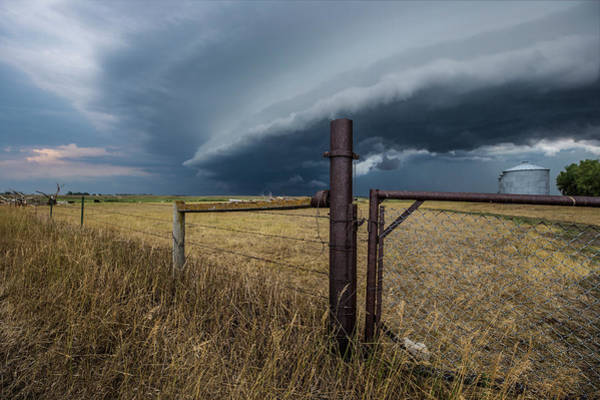 Wall Art - Photograph - Rusty Cage Horizontal  by Aaron J Groen