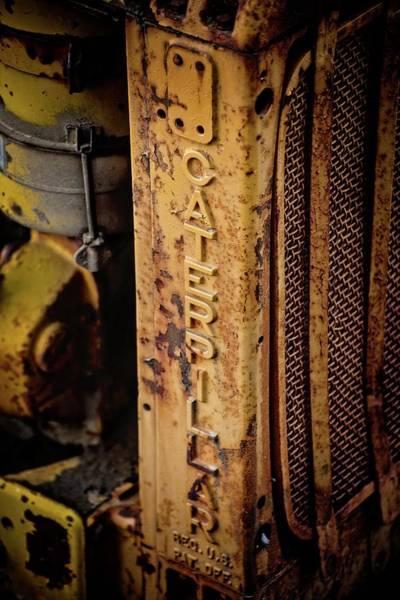 Photograph - Rusty Caterpillar by Lynn Bauer