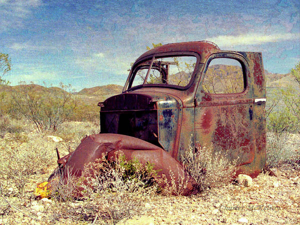 Photograph - Rusty by Charles McKelroy