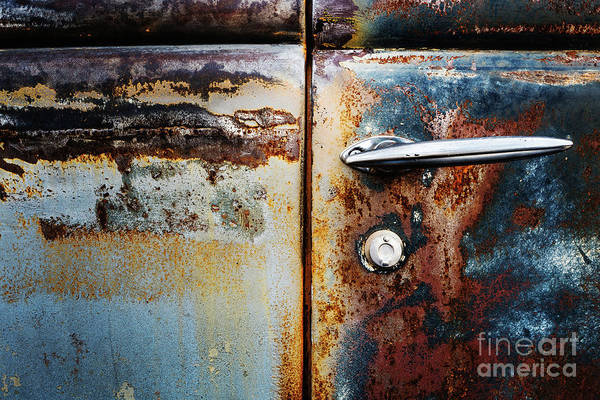 Photograph - Rusty Door 1 by M G Whittingham