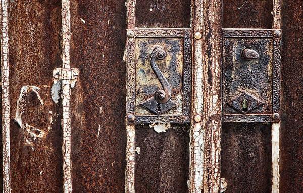 Photograph - Rusty Door Lock - Croatia by Stuart Litoff
