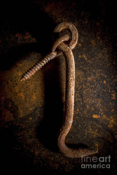Wall Art - Photograph - Rusty Hook by Bernard Jaubert