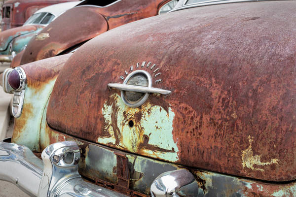 Photograph - Rusty Line-up by Denise Bush