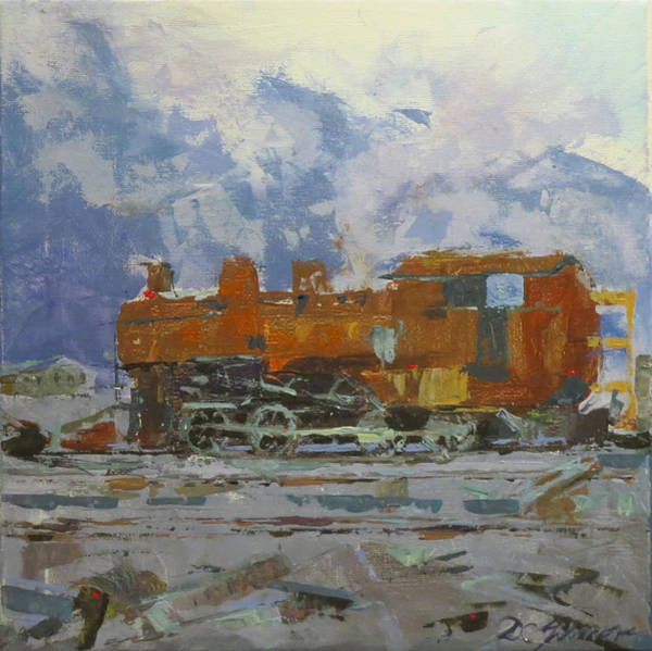 Painting - Rusty Loco by David Gilmore