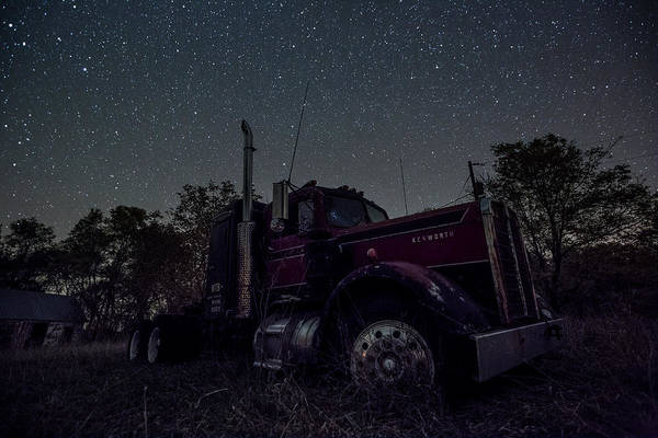 Semi Truck Photograph - Rusty Nail by Aaron J Groen