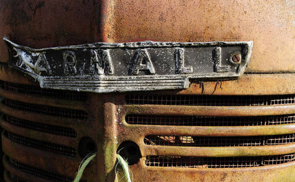 Wall Art - Photograph - Rusty Old Farmall by Luke Moore