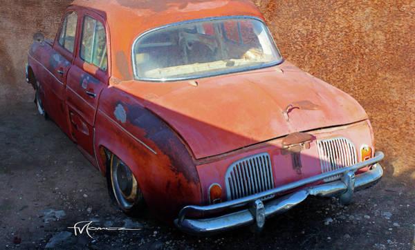 Wall Art - Photograph - Rusty Renault 3 by Felipe Gomez