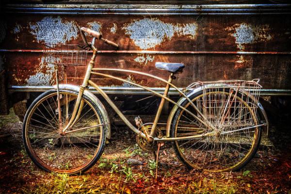 Rusty Chain Wall Art - Photograph - Rusty Ride by Debra and Dave Vanderlaan