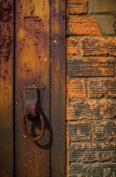 Wall Art - Photograph - Rusty Ring by Carlos Caetano