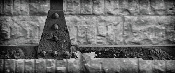 Wall Art - Photograph - Rusty Steel Bridge by Mike Burgquist