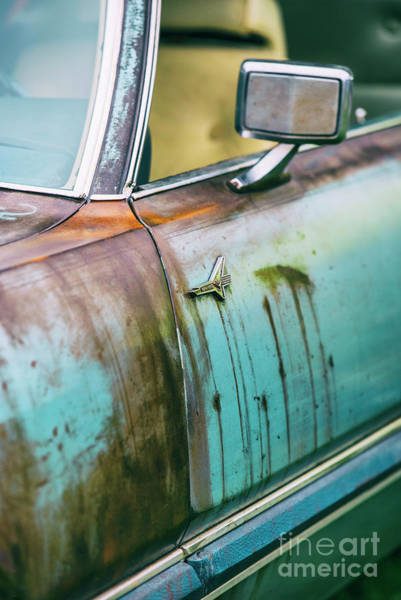 Photograph - Rusty Thunderbird by David Lichtneker