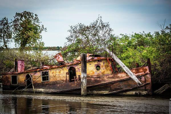Tug Boat Photograph - Rusty Tug by Paul Freidlund