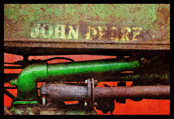 Wall Art - Photograph - Rusty Yet Trusty John Deere by Luke Moore