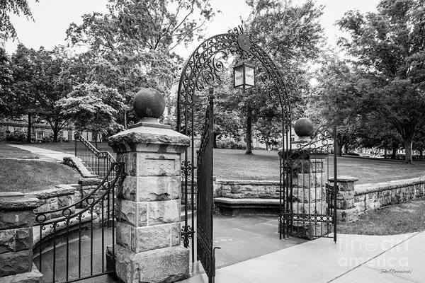 Photograph - Rutgers University Queens Campus Gate by University Icons