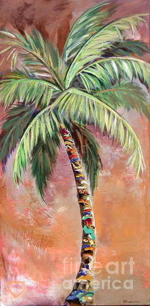 Painting - Ruths Palm II by Kristen Abrahamson