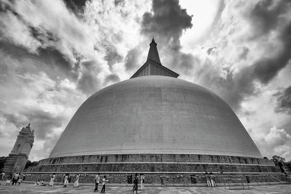 Photograph - Ruwanwelisaya, Anuradhapura, 2012 by Hitendra SINKAR