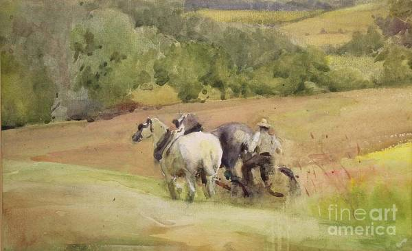 Ploughing Painting - Rws  Rua by MotionAge Designs