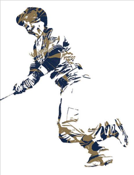 Wall Art - Mixed Media - Ryan Braun Milwaukee Brewers Pixel Art 4 by Joe Hamilton