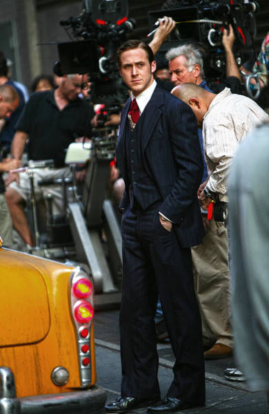 Ryan Gosling Photograph - Ryan Gosling On The Set Of All Good Things by Artisan  Array