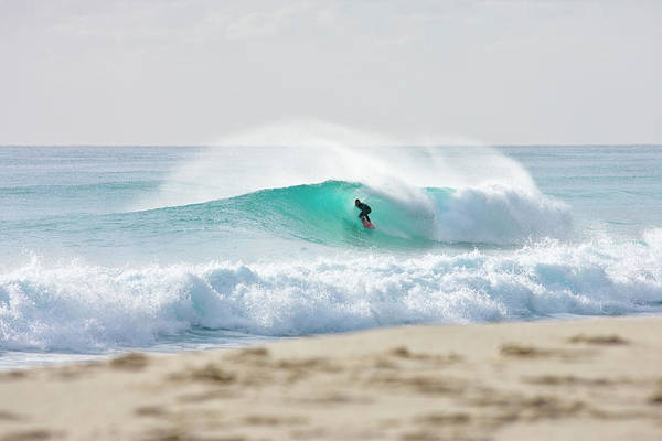 Aqua Green Photograph - Aqua Slot by Sean Davey