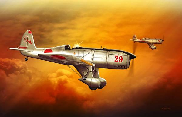 Prop Digital Art - Ryan St-a Captured Imperial Japanese Trainer by John Wills