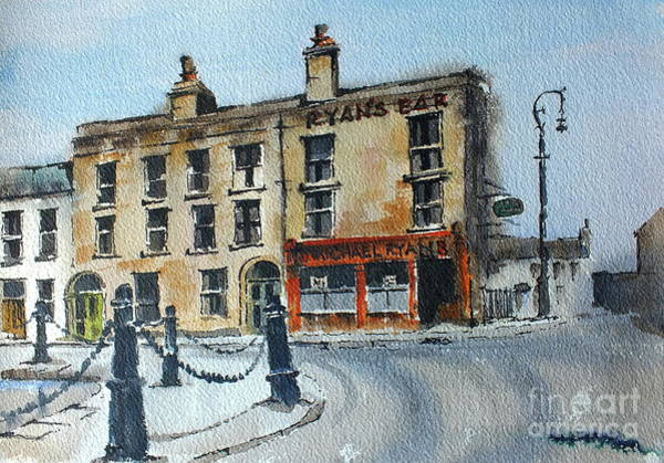 Painting - F 788  Ryans Bar, Portobello, Dublin by Val Byrne