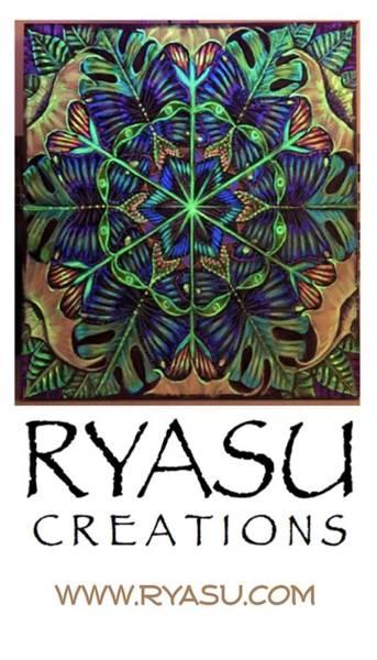 Wall Art - Painting - Ryasu Logo by Sue Beck-Ryan