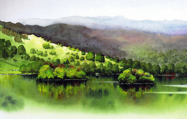 Wall Art - Painting - Rydal Water II by Paul Dene Marlor
