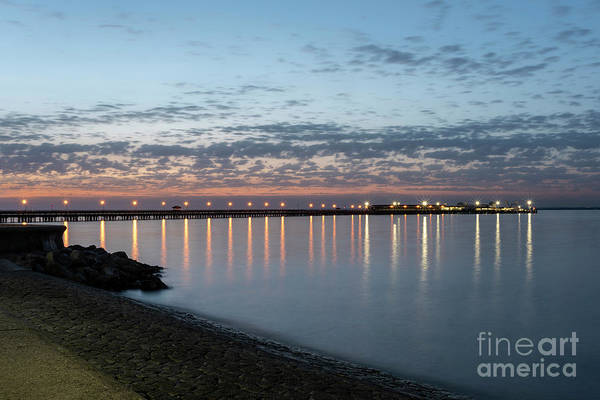 Photograph - Ryde Pier At Sunset 001 by Clayton Bastiani