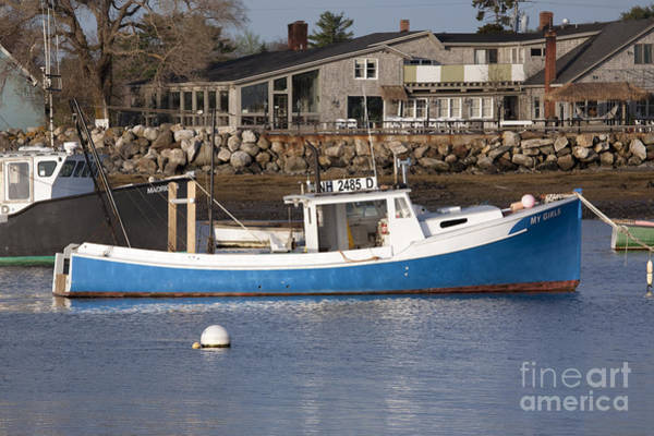 Photograph - Rye Harbor - Rye New Hampshire Usa by Erin Paul Donovan