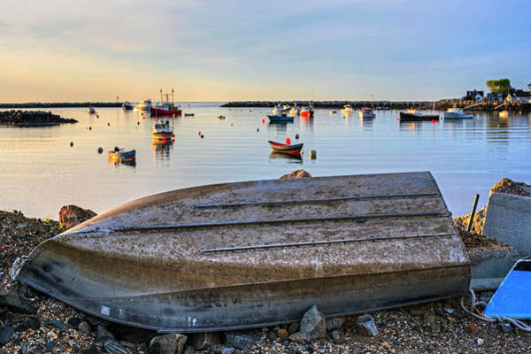 Photograph - Rye Harbor Rowboat Rye Nh New Hampshire by Toby McGuire