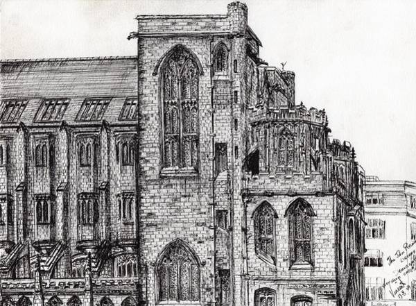 Greater Manchester Wall Art - Painting - Rylands Library by Vincent Alexander Booth
