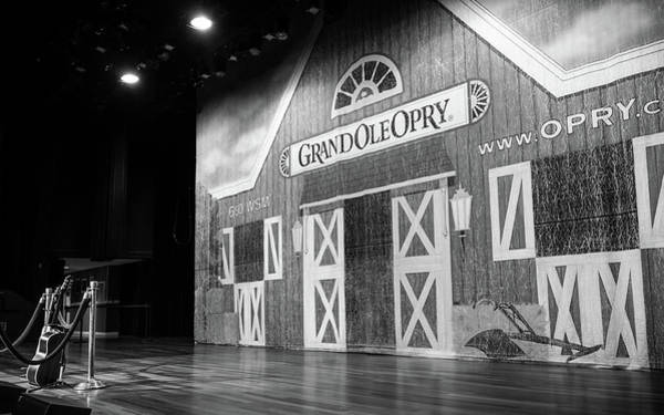 Wall Art - Photograph - Ryman Opry Stage by Glenn DiPaola