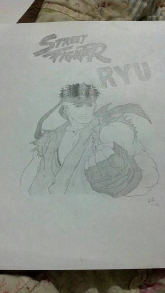 Ryu Drawings Fine Art America