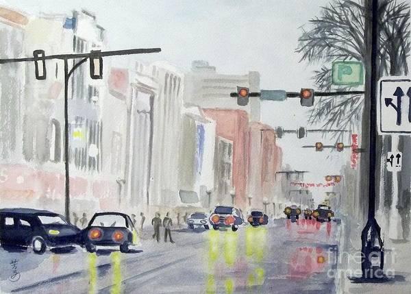Arbor Painting - S. Main Street -ann Arbor Michigan by Yoshiko Mishina