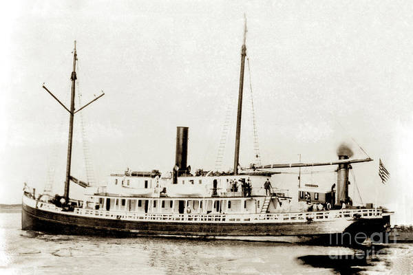 Photograph - S. S. Del Norte Circa 1900 by California Views Archives Mr Pat Hathaway Archives