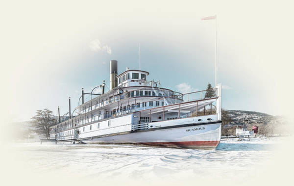 Photograph - S. S. Sicamous II by John Poon