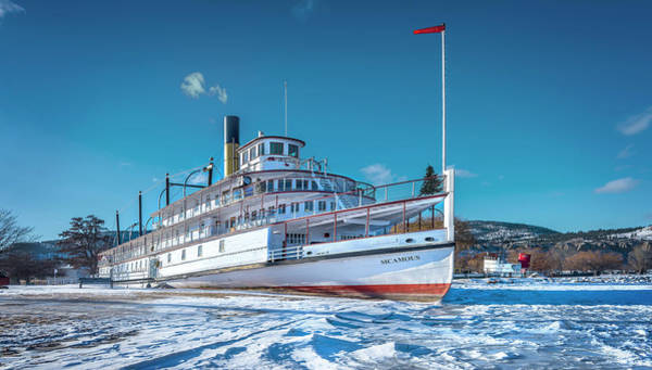 Photograph - S. S. Sicamous by John Poon