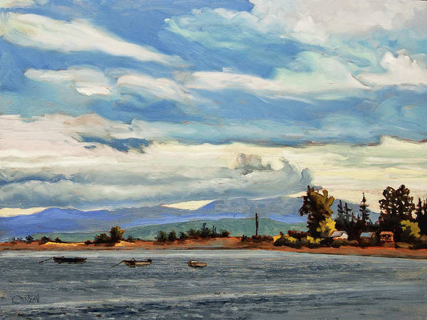 Painting - Saanich Bay by Rob Owen