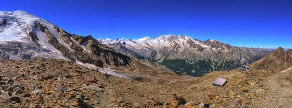 Photograph - Saas Valley Panorama by James Billings