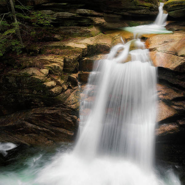 Photograph - Sabbaday Falls by Bill Wakeley