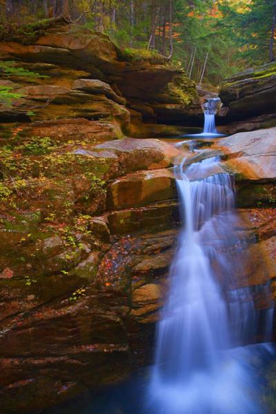 Wall Art - Photograph - Sabbaday Falls New Hampshire by Jim Dohms