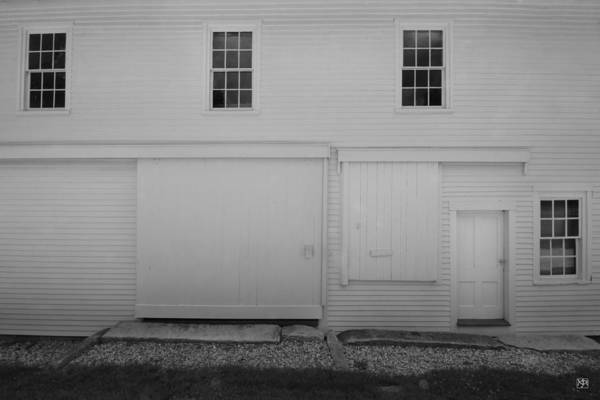 Photograph - Sabbath Day Barn by John Meader