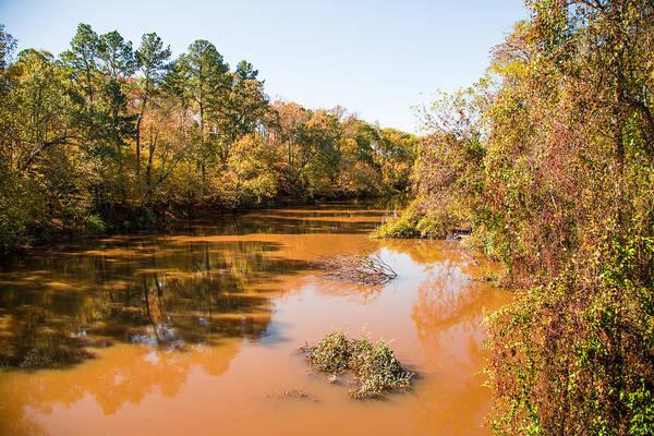 Photograph - Sabine River Near Big Sandy Texas Photograph Fine Art Print 4080 by M K Miller
