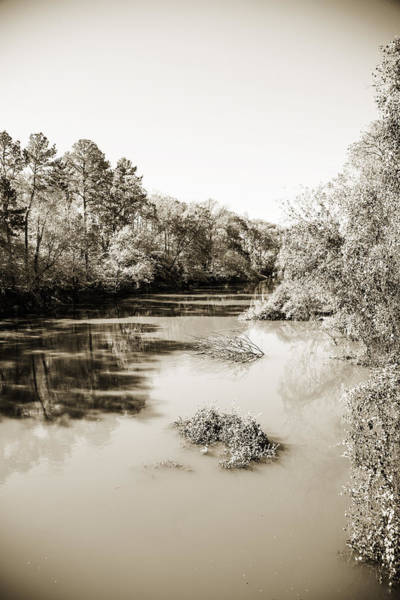 Photograph - Sabine River Near Big Sandy Texas Photograph Fine Art Print 4083 by M K Miller