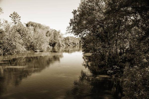 Photograph - Sabine River Near Big Sandy Texas Photograph Fine Art Print 4092 by M K Miller