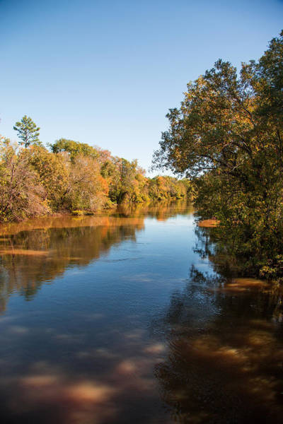 Photograph - Sabine River Near Big Sandy Texas Photograph Fine Art Print 4093 by M K Miller